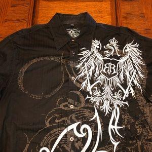 Roar embellished shirt XL